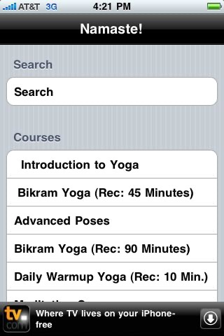 Yoga Trainer Lite screenshot-4