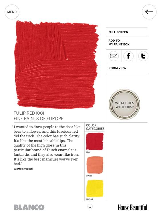 House Beautiful's 500+ Favorite Paint Colors