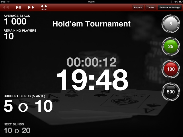 Poker Manager for iPad screenshot-0