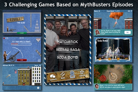 MythBusters iPhone and iPod Touch Edition