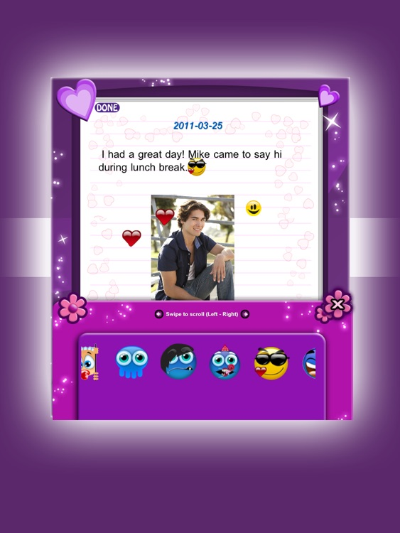Amazing Secret Diary HD Lite screenshot-1