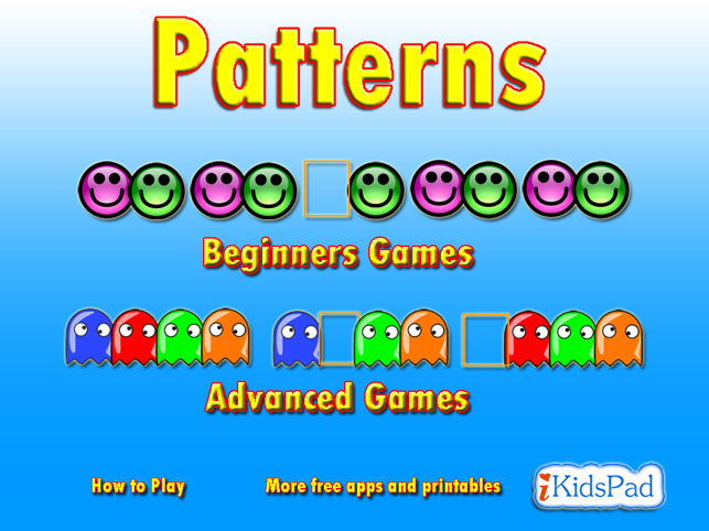 Pattern Game on the App Store