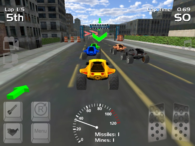 Hard Rock Racing screenshot-4