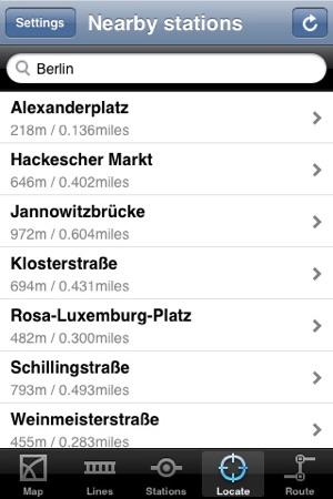 Berlin Subway on the App Store