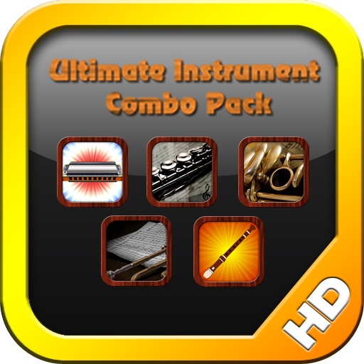 Ultimate Instrument Combo Pack Free (Harmonica, Recorder, Clarinet, Flute, Trumpet)