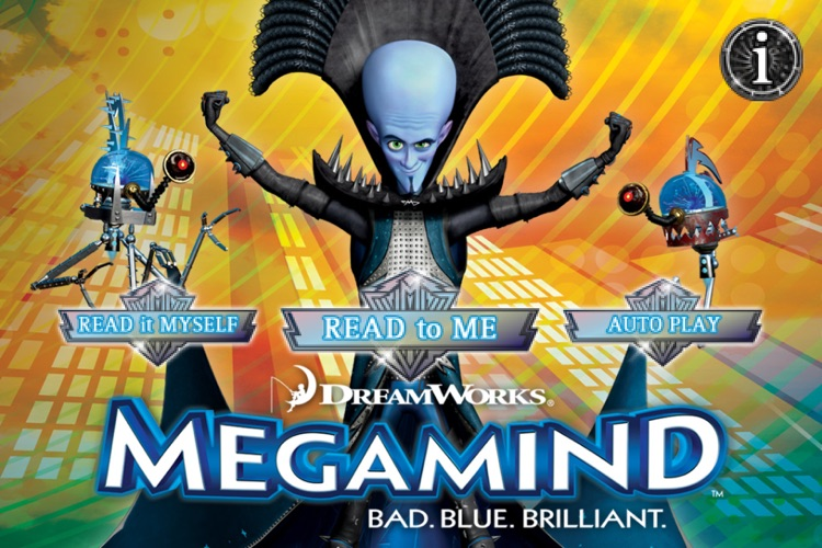Megamind- Storybook App screenshot-0