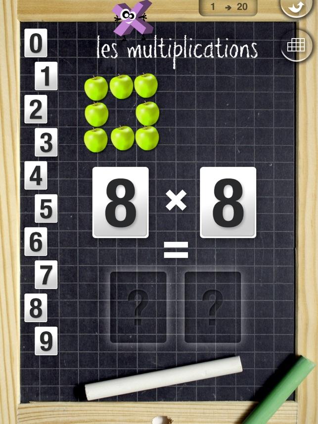 Apprendre les tables en s 39 amusant sur ipad dans l app store - Comment apprendre les tables de multiplication en s amusant ...