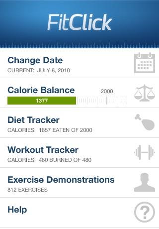 FitClick Diet & Workout Tracker