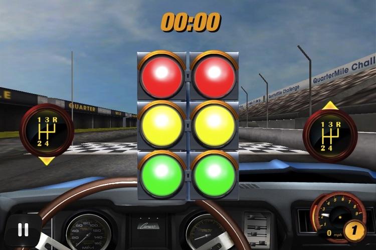 Quarter Mile Challenge Drag Race screenshot-3