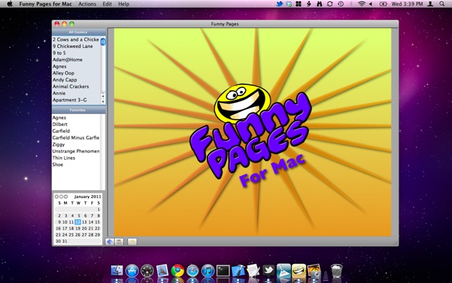 Funny Pages for Mac Screenshot
