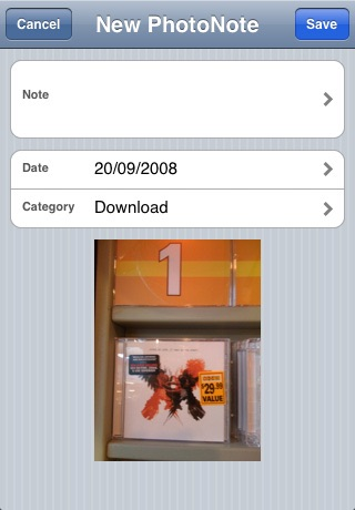 PhotoNote Lite (Photo + Note) screenshot-4