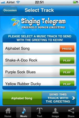 Singing Telegram by Personalized Music & Gifts