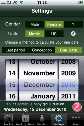 Baby Pregnancy Tracker (Lite)Screenshot of 3