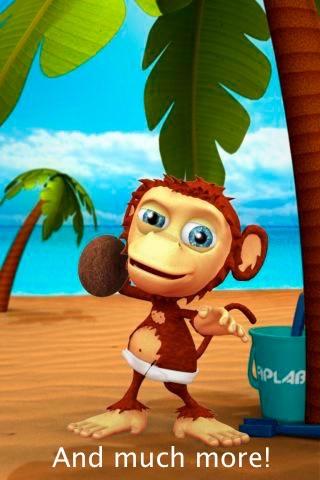 Talking Baby Monkey screenshot-4