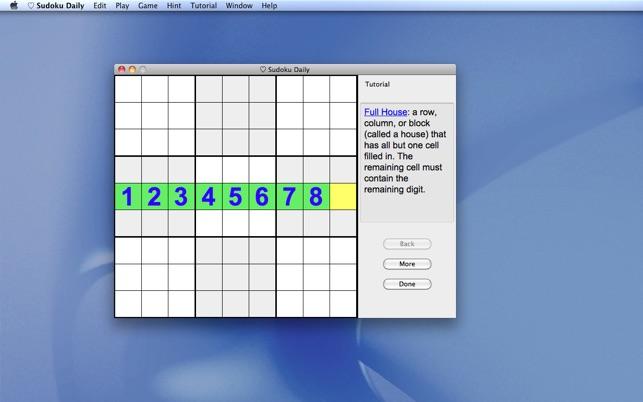 Sudoku Daily on the Mac App Store