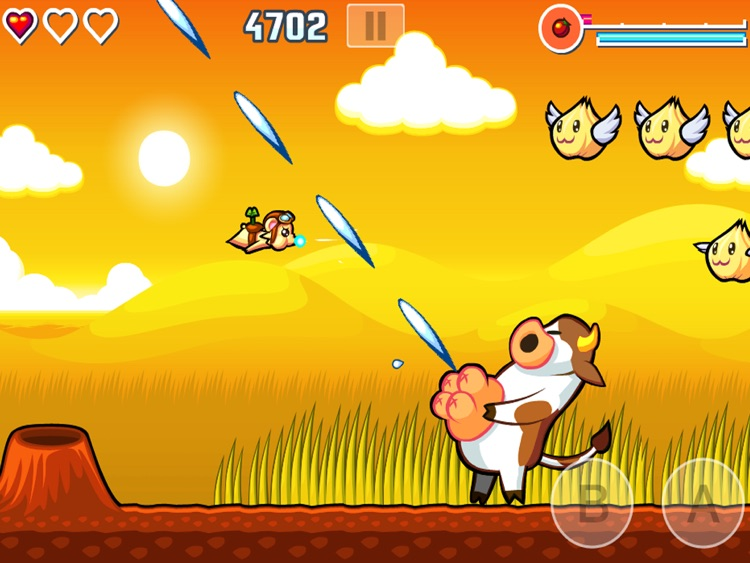 Flying Hamster HD screenshot-3