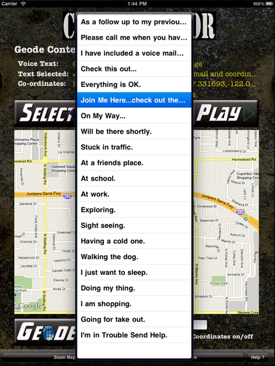 Geode Communicator (iPad Edition)