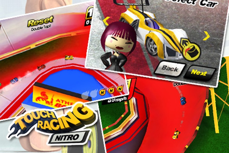 Touch Racing screenshot-2