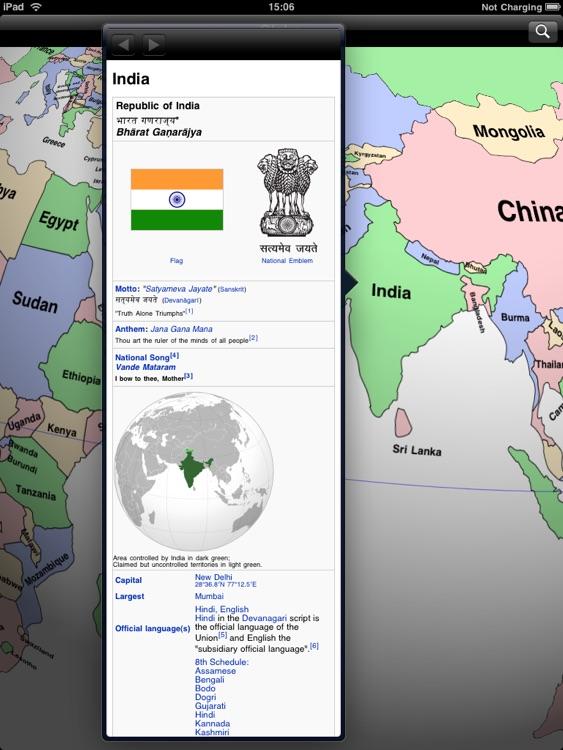 Globe for iPad screenshot-3