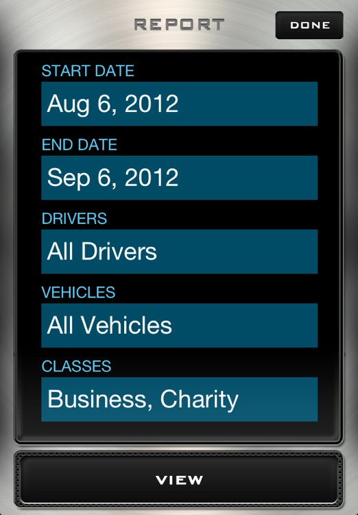 Mileage Log - Driving Distance Tracker screenshot-3