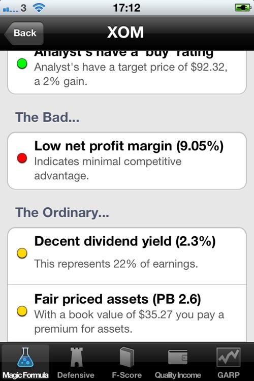 Value Investors Review screenshot-3