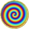 Stare at one of these spirals and drift away into a nice hypnotic trance