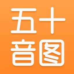 沪江日语五十音图