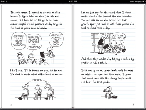Diary of a wimpy kid por jeff kinney en ibooks captura de pantalla 3 solutioingenieria Images