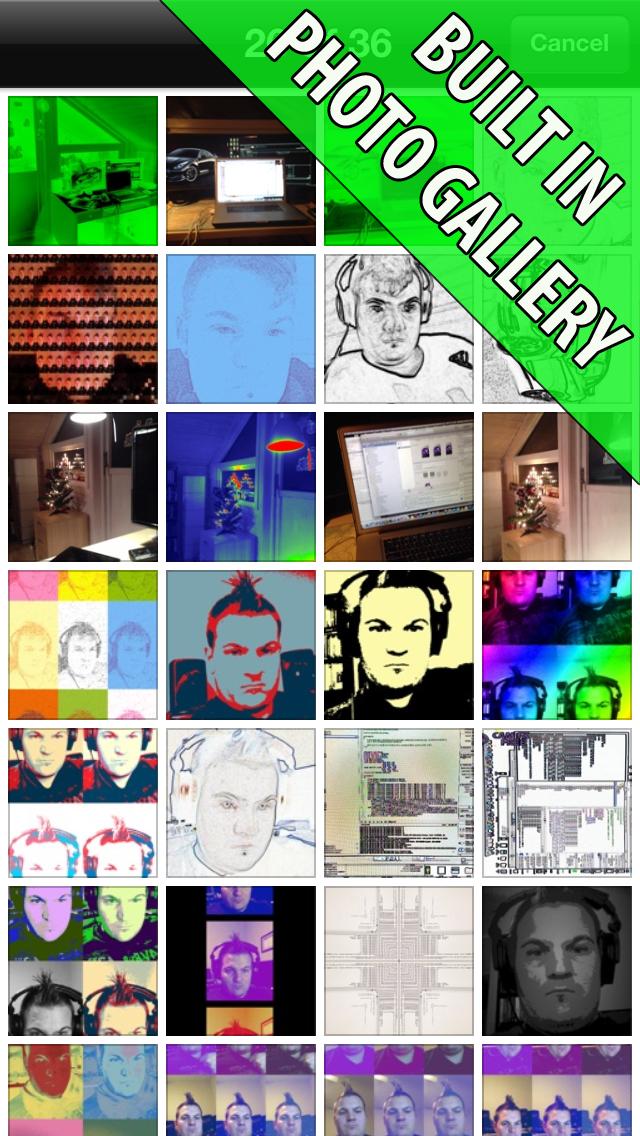 Camera FX - Over 100 Fun Photo Effects Screenshot on iOS