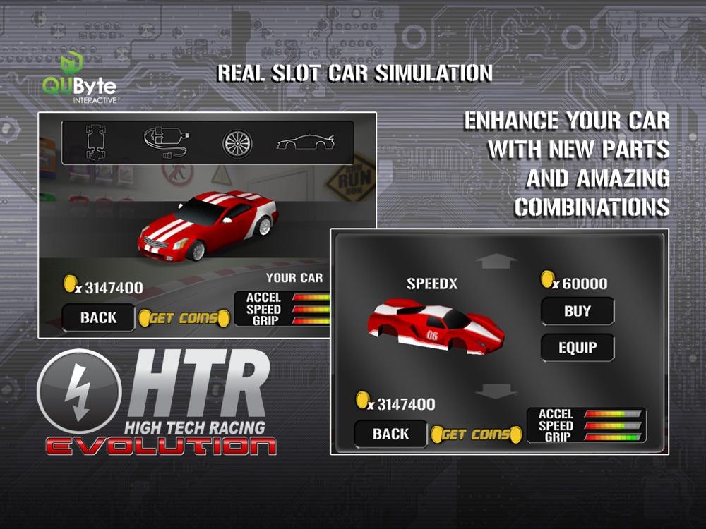 HTR HD High Tech Racing Evolution hack tool