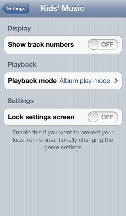 Kids' Music Player Free screenshot-3
