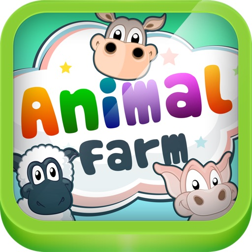 Animal Farm - 3 In 1 Interactive Playground For Preschool Kids - Learn Names And Sounds Of Farm Animals By Abc Baby
