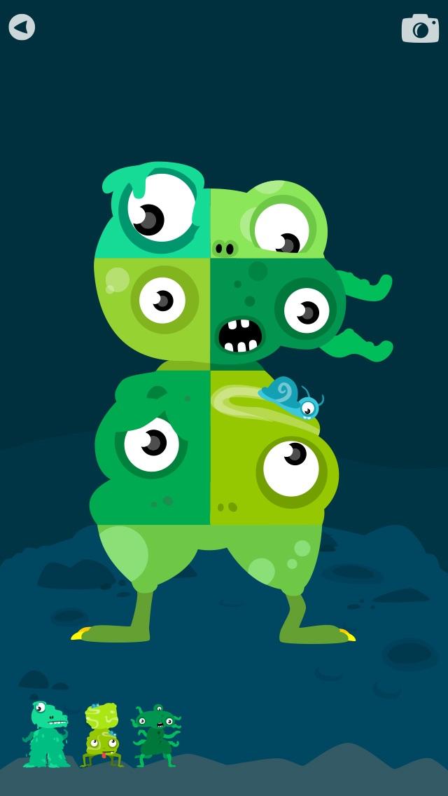MooPuu FREE - The Animated Monster Puzzle screenshot three