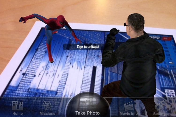 The Amazing Spider-Man AR screenshot-3
