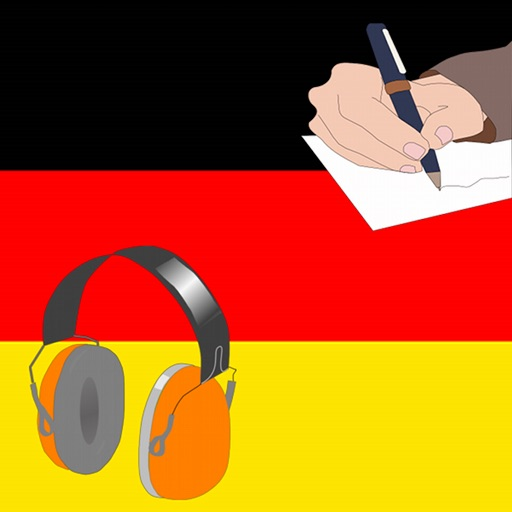 Learn German : listen an write