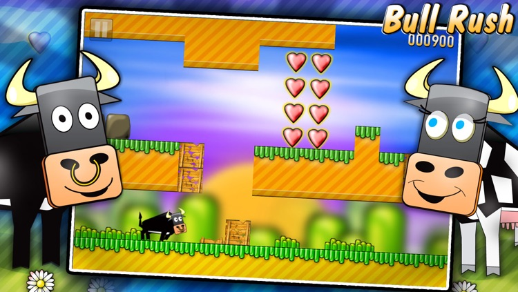Bull Rush Free screenshot-0