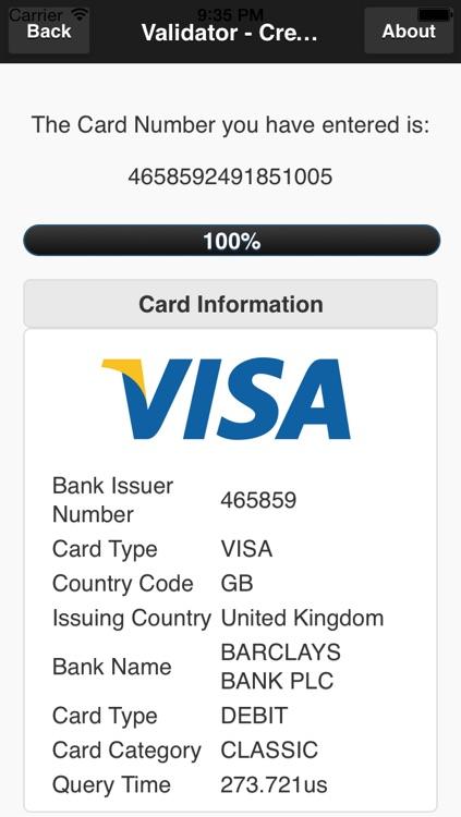 Credit Card Revealer screenshot-4