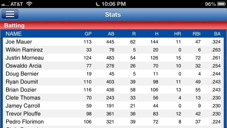 Minnesota Baseball Live screenshot-4