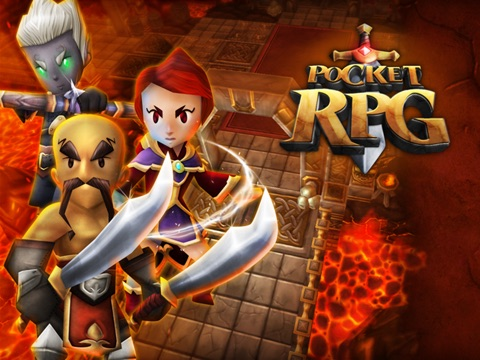 Pocket RPG на iPad