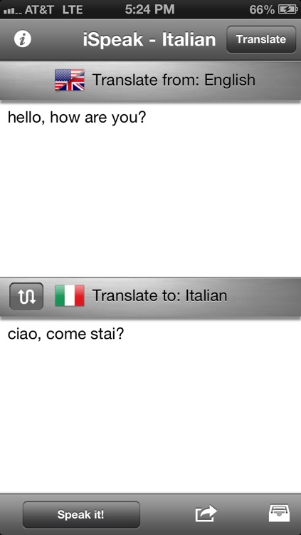 iSpeak Italian screenshot-0