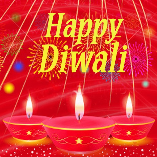 Happy Diwali Greetings Card. Send Diwali Wishes Greeting Cards on Festival of Lights. Custom Diwali Cards! icon