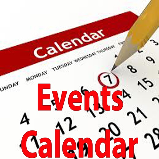 Best Events Calendar.Organizing all your events and tasks in calendar with reminder. icon
