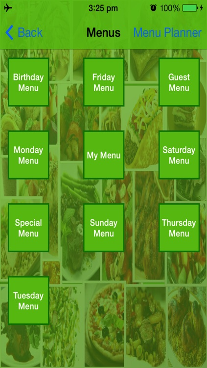 Recipe Book With Menu Planner screenshot-3