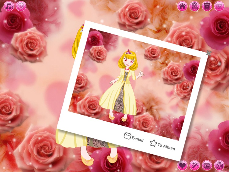 Beauty Princess HD: Dress up and Make up game for kids screenshot-3