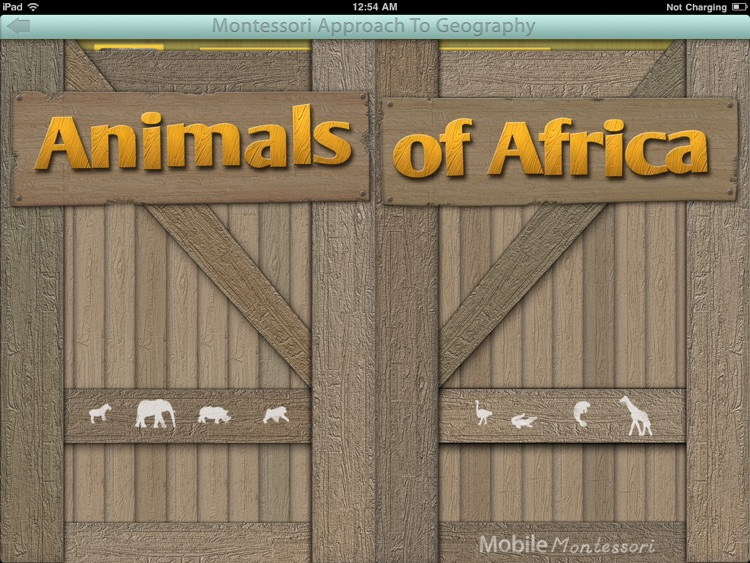 Animals of Africa LITE - A Montessori Approach To Geography screenshot-3