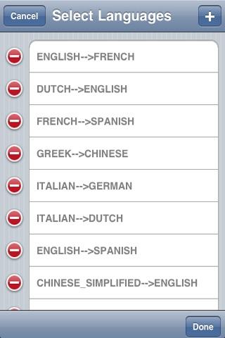 G Translate + (Client for Google Translate) screenshot-4