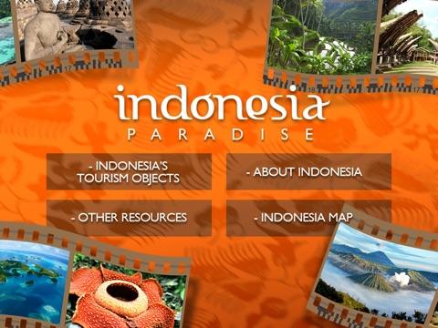 Indonesia Paradise iPad