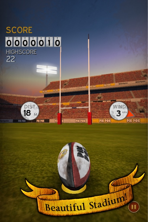Flick Kick Rugby Kickoff screenshot-0