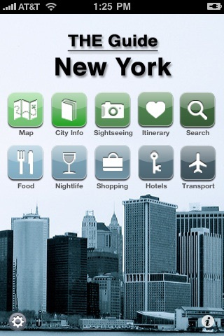THE Guide New York - Offline city guide & map