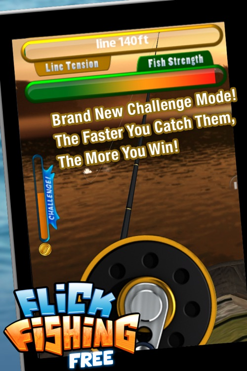 Flick Fishing FREE screenshot-3